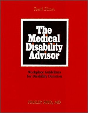 Medical Disability Advisor, Seventh Edition